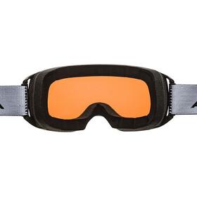 Alpina Arris QH Goggles, zwart/oranje